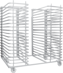 Racks with 28 or 38 double articulated arms - IG-CBAD